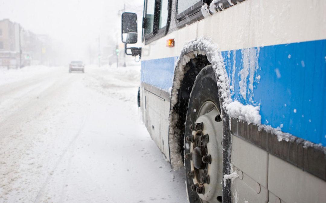 Новый автобусный маршрут 13, время отправления