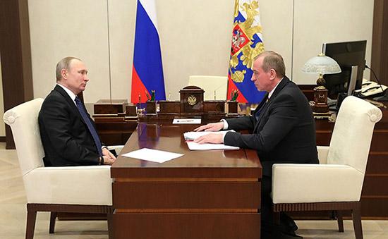 В. В. Путин: «Поможем Иркутску построить крытый стадион»