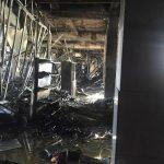 Первые фотографии из «Центра» после пожара…(обновлено в 14:00)