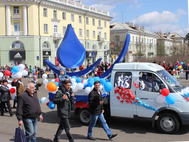 1 мая автомобильное движение в Ангарске будет временно перекрыто