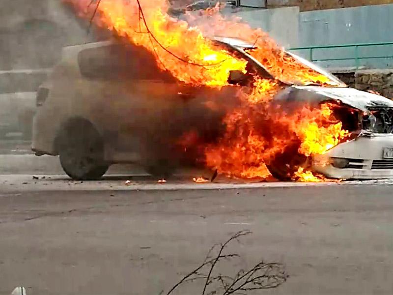 Осудили поджигателя автомобиля