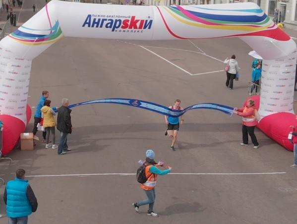 «Я бегу! Ангарск»: подборка фото и видео с высоты птичьего полета
