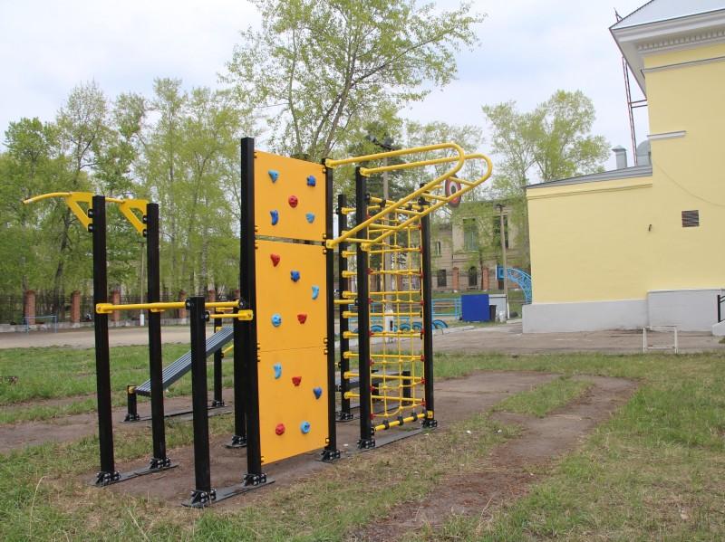 Новый доступный для всех спорткомплекс открылся в Ангарске