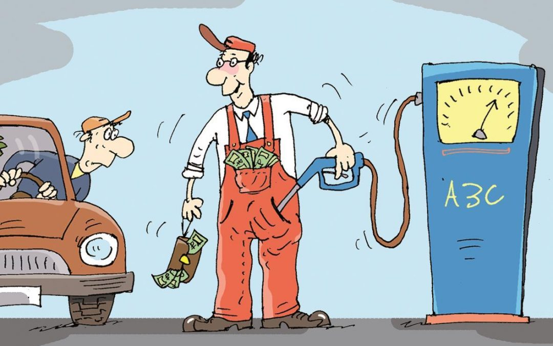 Федерация автовладельцев России: 7 из 10 АЗС недоливают бензин