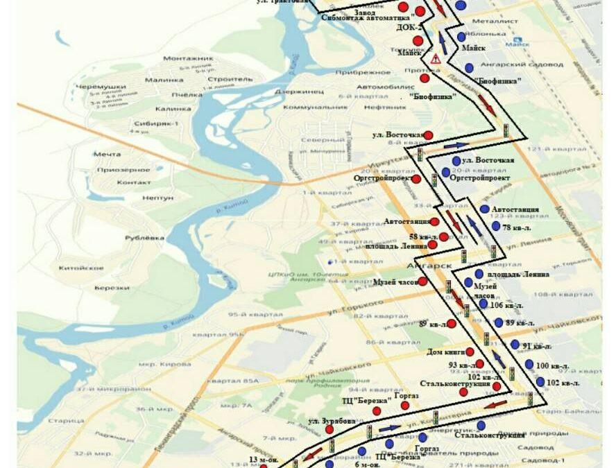 Нужен ли Ангарску новый автобусный маршрут?(опрос)