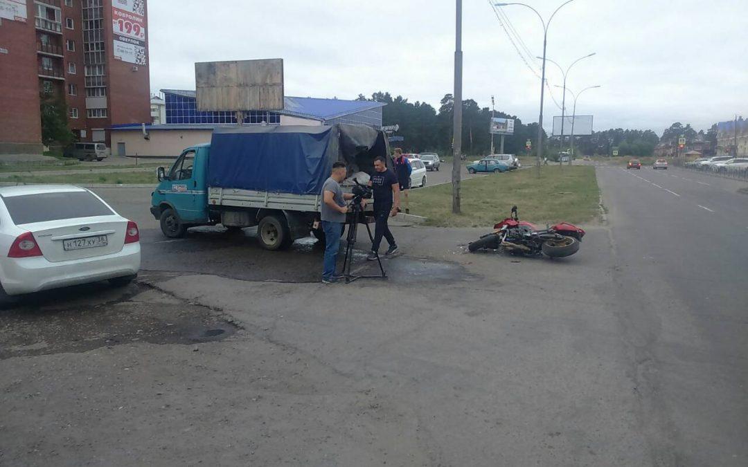 Мотоциклист не виноват!(видео)
