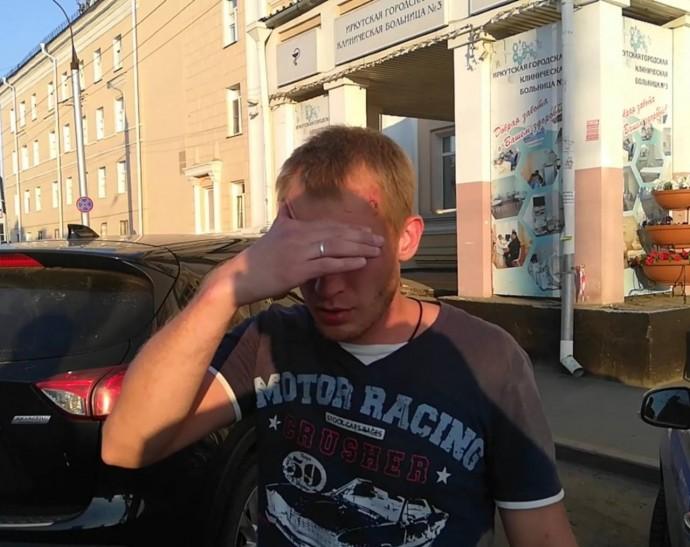 В ДТП на мосту в Иркутске получили травмы 9 сотрудников полиции(видео)