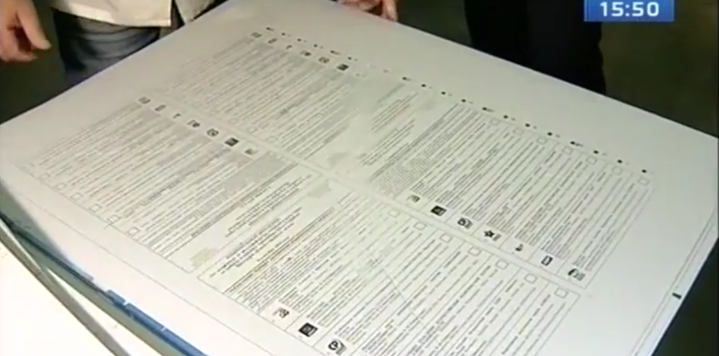 Избирком Иркутской области принял бюллетени для голосования на выборах в Заксобрание