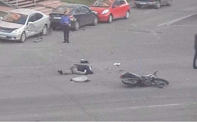 ДТП со смертельным исходом в Ангарске (момент столкновения)
