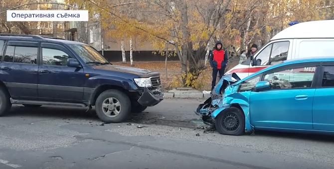 Еще двое детей пострадали в ДТП в Ангарске (видео)