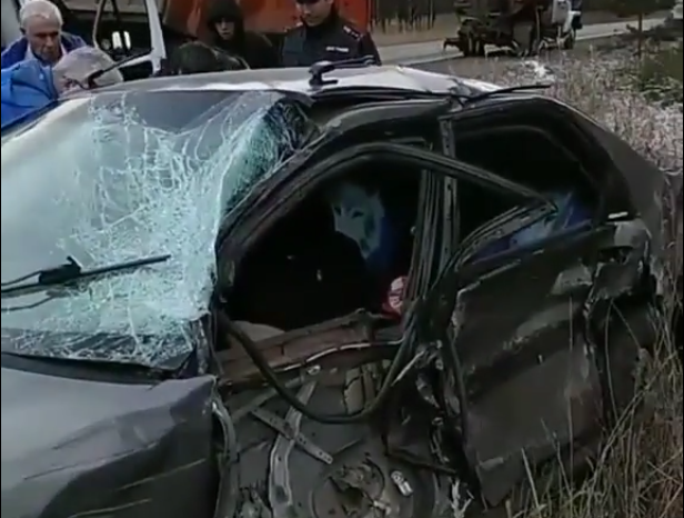 Серьезное ДТП на Московском тракте (видео)
