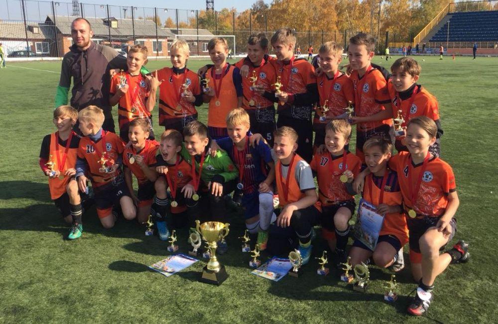Ангарский «Сибиряк» — победитель областного первенства по футболу