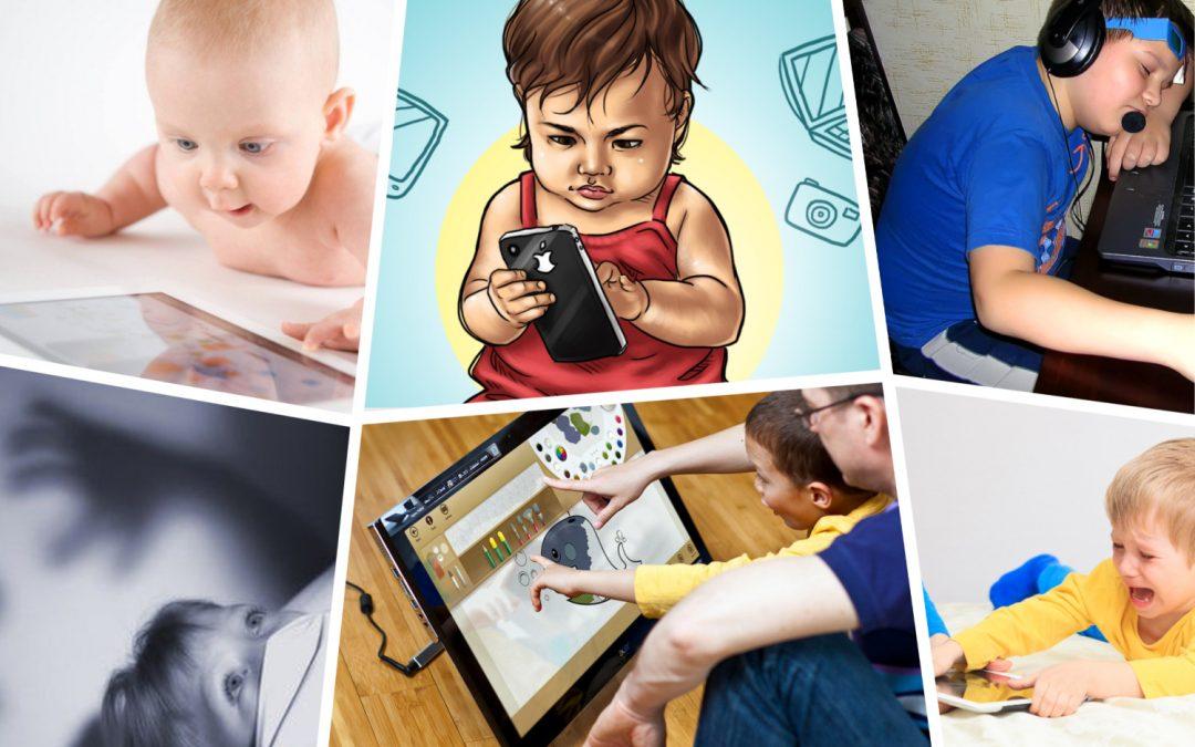 Очередные ответы на вопросы эксперту: «Дети и гаджеты — вред или польза?»