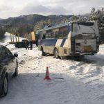 Автобус «Ангарск — Тальяны» столкнулся с «Камазом». Есть пострадавшие (+фото)