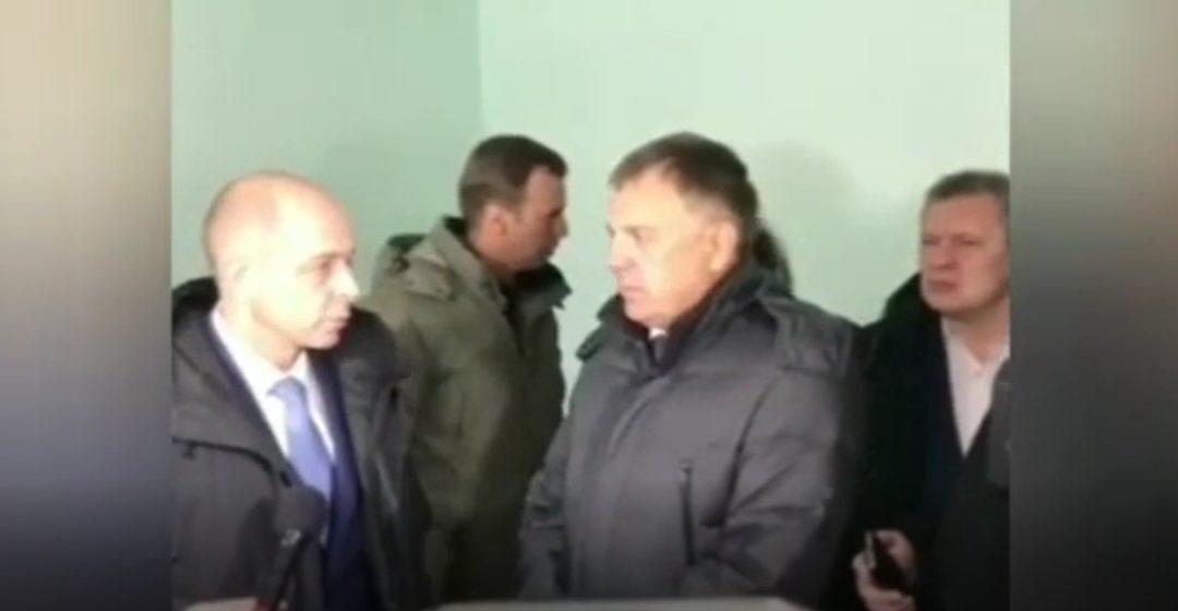 Председатель Заксобрания Сергей Сокол сегодня в Ангарске (видео)