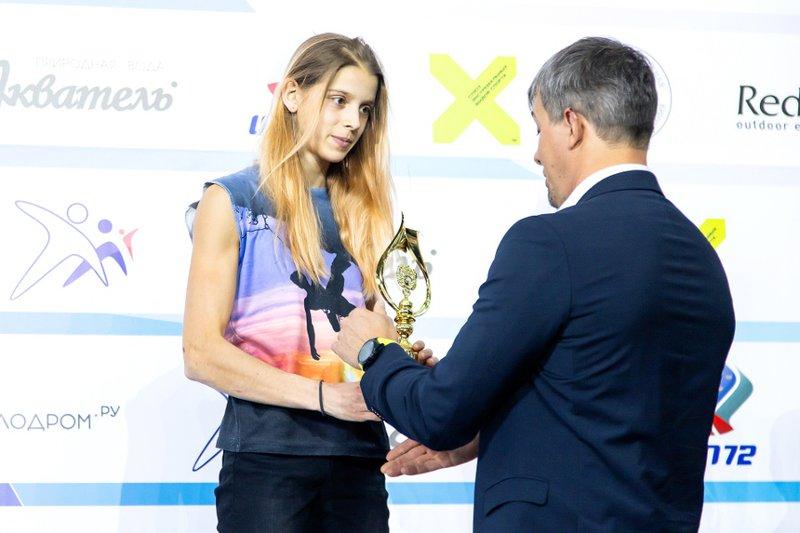 Ангарчанка Дарья Веретенина — бронзовый призер первенства России по скалолазанию