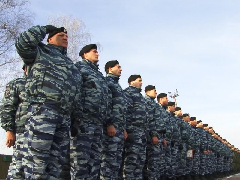 Мэр Сергей Петров поздравил ангарский ОМОН с юбилеем