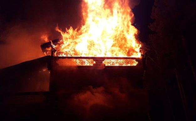 Пожар в «Ангарской горке» — обновлено (+видео, +фото)