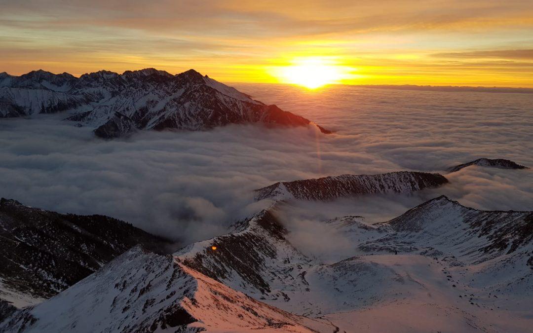 Лучше гор могут быть только горы — очередное восхождение начинающей ангарской альпинистки! (+видео)