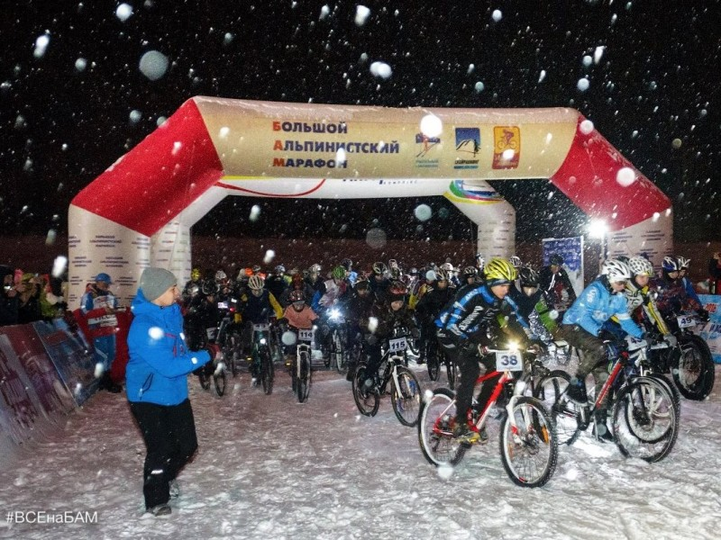 «БАМ Ночная гонка Молодой Луны» впервые пройдет в парке имени 10-летия Ангарска