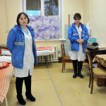 Мэр округа Сергей Петров с рабочей поездкой посетил объекты здравоохранения в Мегете