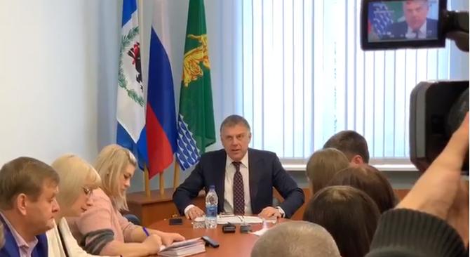 Мэр Ангарска рассказал об информационно-политическом давлении «отдельных персоналий» (видео)