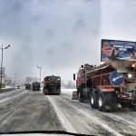 На уборке дорог от снега в Ангарском округе работают шесть подрядных и субподрядных организаций