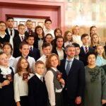 Ангарского школьника наградили медалью «За мужество в спасении»