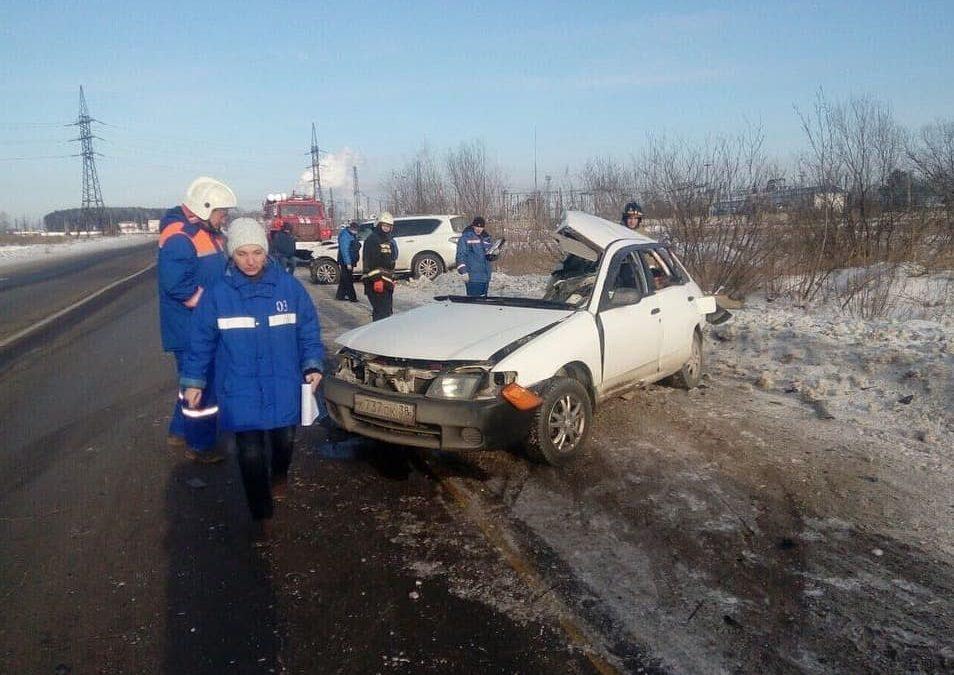 Водитель погиб в ДТП в Ангарске