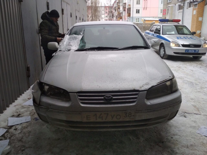 В Ангарске 53-летний водитель сбил подростка и скрылся (+видео признания)
