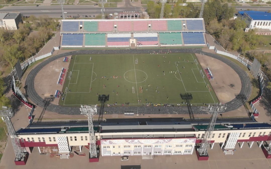 Стадион «Ангара» отремонтируют (видео)