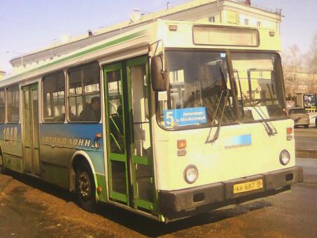 С понедельника, 11 марта, в Ангарске изменена схема движения маршрута № 5