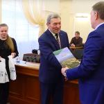На одного почетного гражданина в Ангарске стало больше (видео)