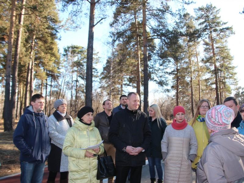 В парке имени 10-летия Ангарска будет высажено 36 сосен
