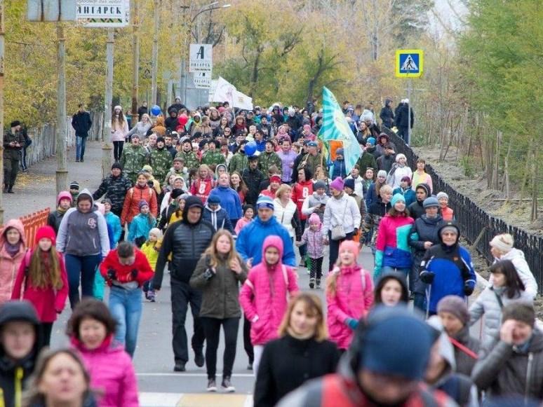 Ангарск присоединится к Всероссийской акции «10000 шагов к жизни»