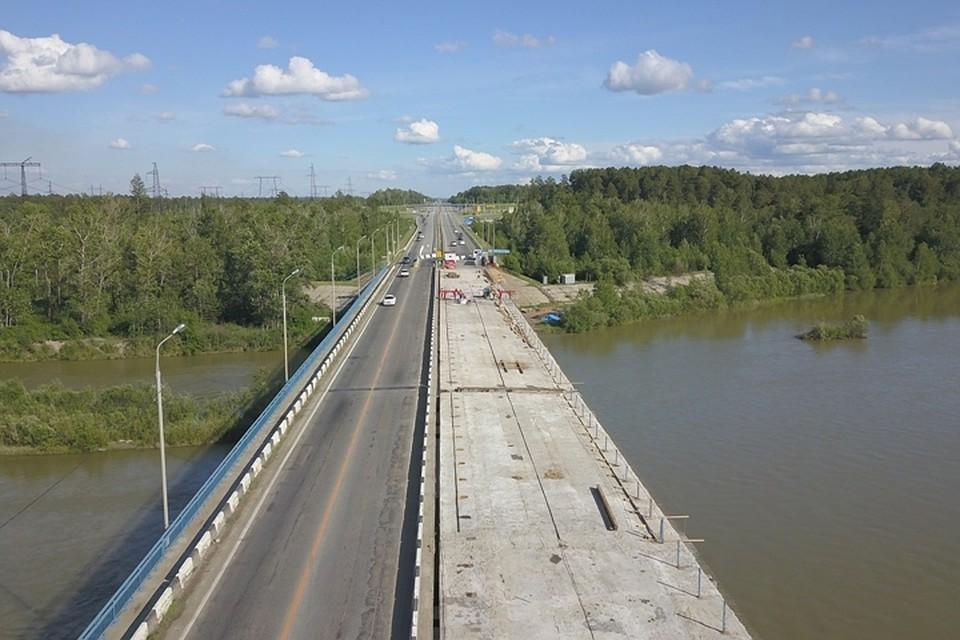 Схема движения по мосту через Китой в Ангарском районе изменится с 5 апреля