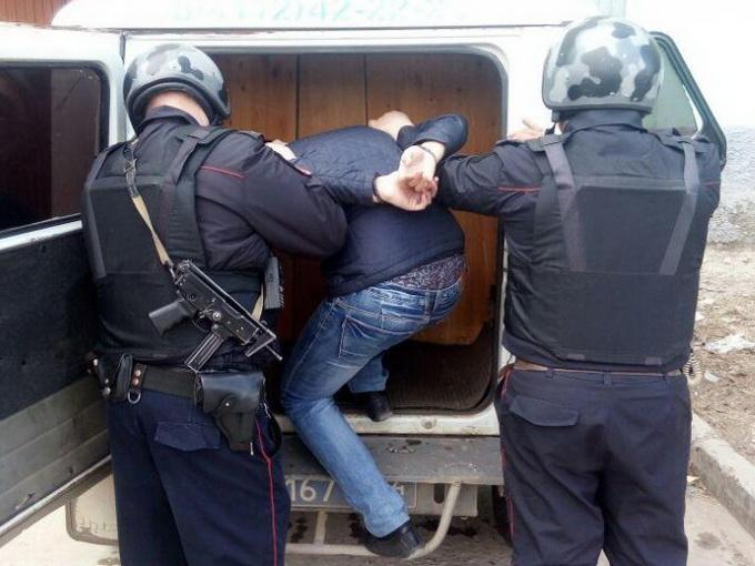 В Ангарске сотрудники вневедомственной охраны Росгвардии задержали подозреваемого в тяжком преступлении