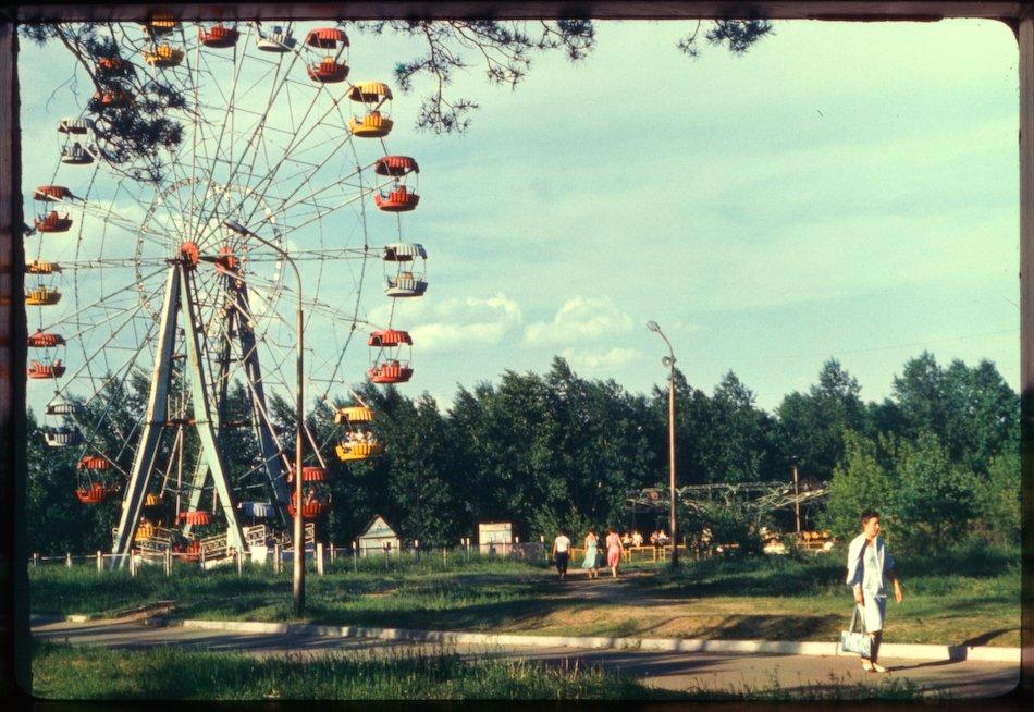 В Ангарск приехало колесо обозрения! (видео)