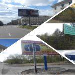 В Ангарске на днях станет меньше рекламных конструкций (+фото)