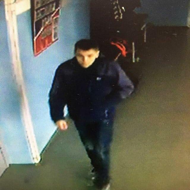 Розыск подозреваемого в краже (+видео)