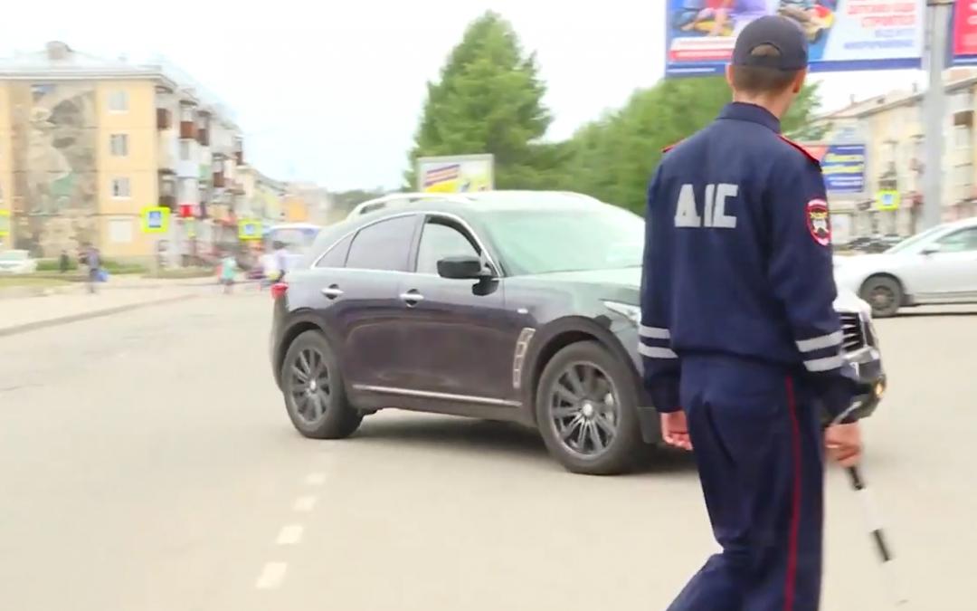 Каждые три минуты в Ангарске нарушаются ПДД (видео)