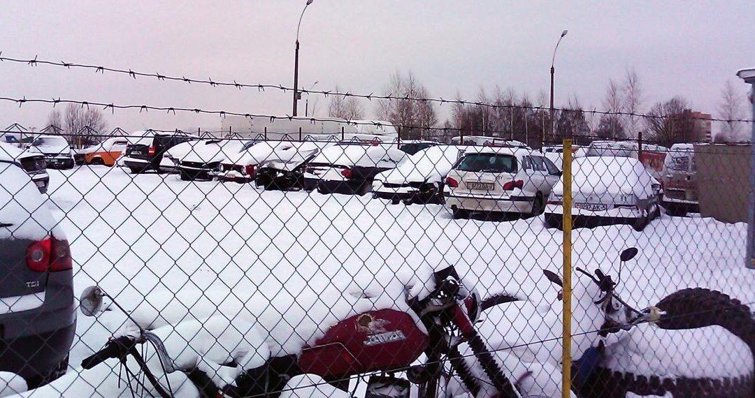 Иркутянин через суд взыскал почти 600 тыс. р. за плохое хранение авто на ангарской штрафстоянке
