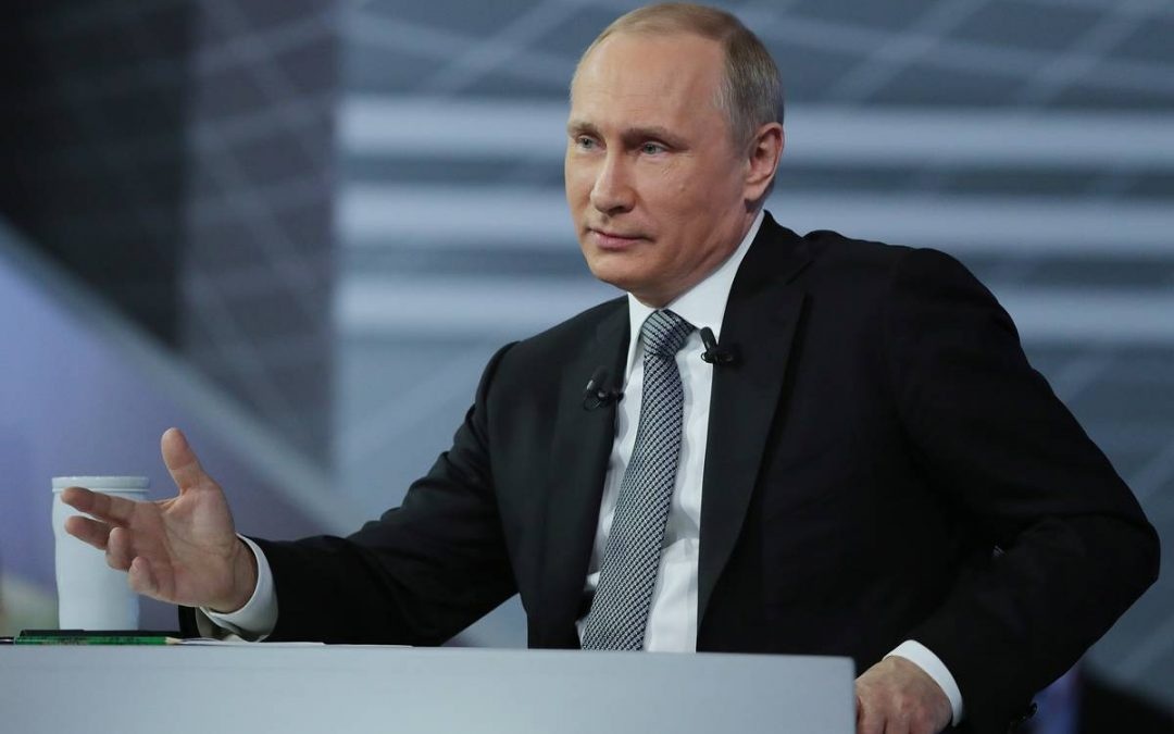 Прямая линия с Владимиром Путиным — 2019. Прямая трансляция (видео)