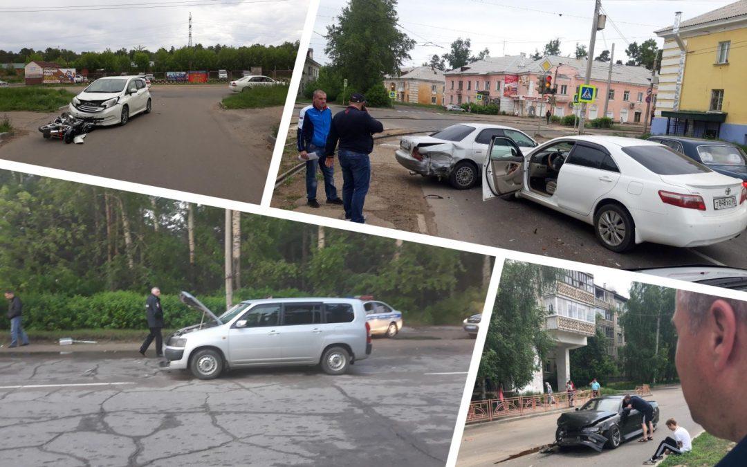 Сводка дорожно-транспортных происшествий за неделю (10.06 — 16.06)