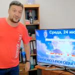 Погода в Ангарске 24 июля: прогноз, приметы и видеообзор