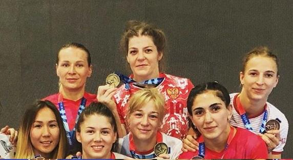 Ангарчанка Екатерина Букина завоевала золото в Испании