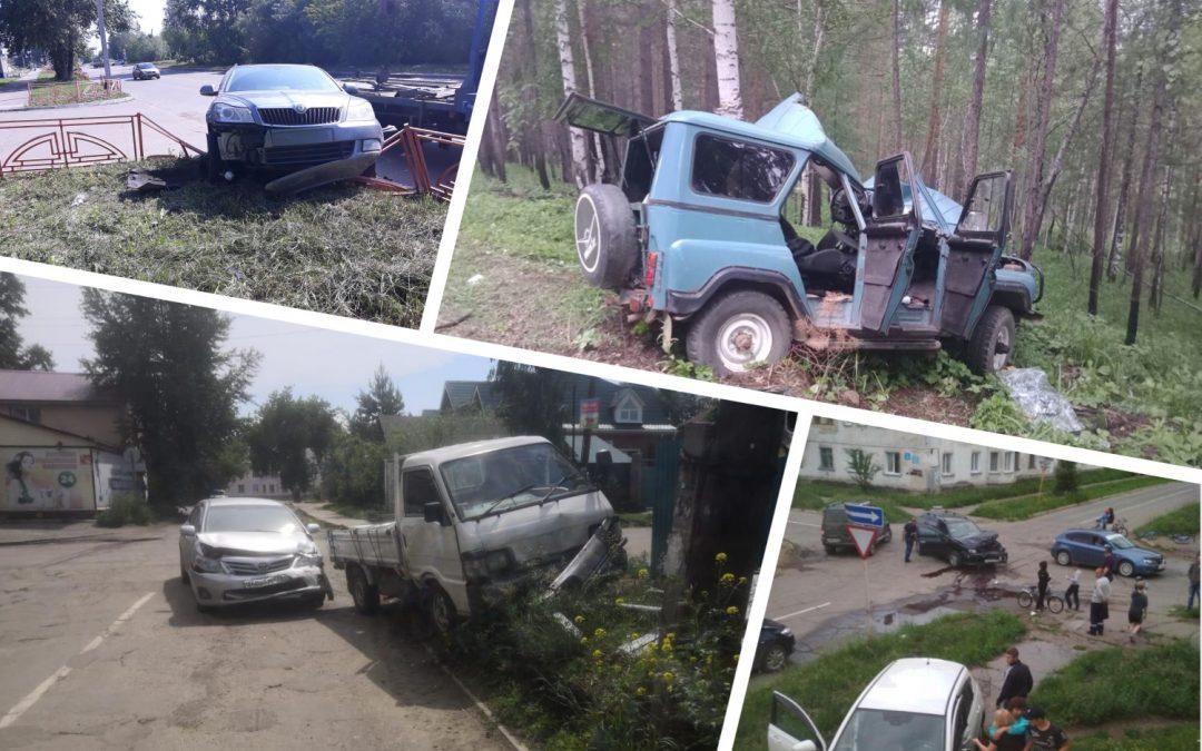 Сводка дорожно-транспортных происшествий за неделю (24.06 — 30.06)