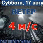 Погода в Ангарске 17 августа: прогноз, приметы и видеообзор