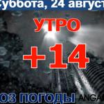 Погода в Ангарске 24 августа: прогноз, приметы и видеообзор