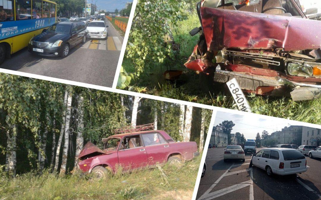 Сводка дорожно-транспортных происшествий за неделю (05.08 — 11.08)